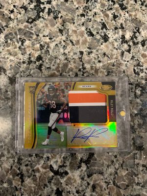 2019 panini certified Riley Ridley rookie auto patch 7/25 for Sale in Austin, TX