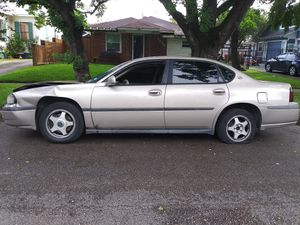 Chevy impala 2002 for Sale in Houston, TX