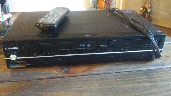Toshiba dvd/vcr player