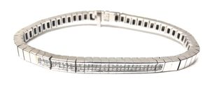 Unisex Bracelet 14Kt White Gold for Sale in Margate, FL