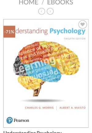 Understanding Psychology eBook 12th edition for Sale in Canton, MA