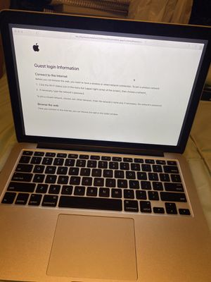 Macbook Pro, 13.3-inch Laptop (Retina), 2.7Ghz Dual Core i5 (Early 2015) for Sale in Detroit, MI