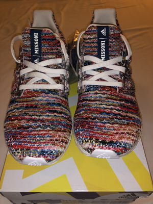 Missoni x Adidas UltraBoost Clima 'Multicolor' Men's size 5 = Women's size 6.5 for Sale in El Monte, CA