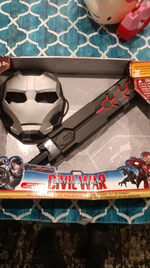 NEW ..Captain America civil war combat kit for Sale in Mastic Beach, NY