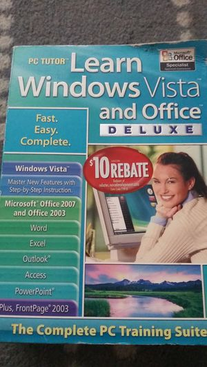 4 disc Windows, Vista, and Office PC for Sale in Knoxville, TN