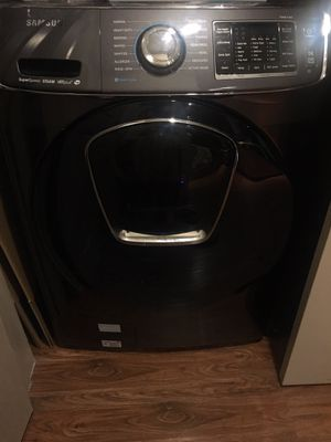 Samsung front-load steam washer & gas dryer for Sale in Atlanta, GA