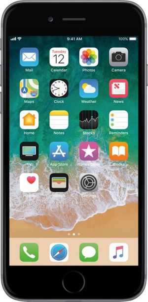 New Apple iPhone 6 32GB, Space Gray Locked to Straight Talk for Sale in Herndon, VA