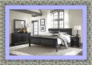 11pc Black Marley bedroom set free delivery for Sale in Ashburn, VA