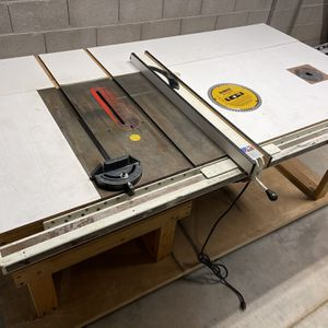 Shop Size Custom Table Saw/router Table for Sale in Phoenix, AZ