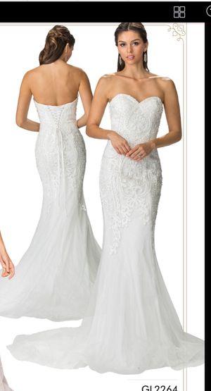 Brand New Mermaid Wedding Dress with Corset Back for Sale in Atlanta, GA