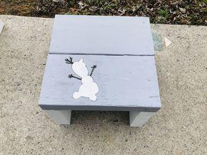 Disney's Frozen Olaf -Footstool/ Seat for Sale in Voorhees Township, NJ