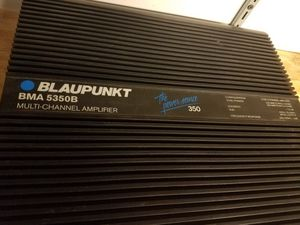 Vintage blaupunkt 5 channel amp for Sale in Chicago, IL