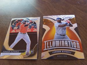Yordan Alvarez 2 card lot Prizm for Sale in Bluffton, SC