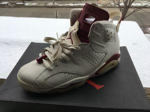 Jordan 6 s size 9.5 Maroon for Sale in Washington, DC