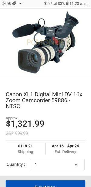 Canon mini conconder cam for Sale in Hyattsville, MD