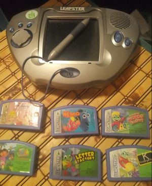 LeapFrog Leapster with Six Games for Sale in Saint Paul, MN