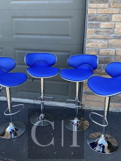 Brand New! $60 Each 4 Blue Bar Stools for Sale in Orlando,  FL