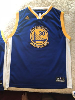 Steph Curry uniform. Youth XL. $25 per piece for Sale in Pittsburgh, PA