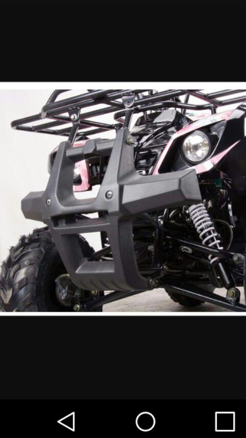2019 Brand New in Crate 125cc ATV Quad 4 Wheeler
