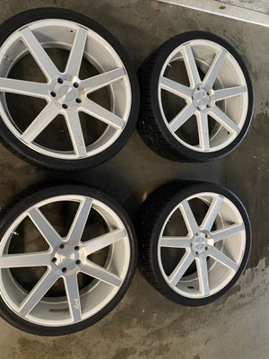 """Niche 24"""" rims and tires for Sale in Laguna Niguel, CA"""