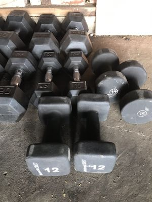 Dumbbells for sale for Sale in Los Angeles, CA