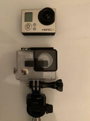 GoPro Hero 3 Silver with MonoPod for Sale in Bellevue, WA