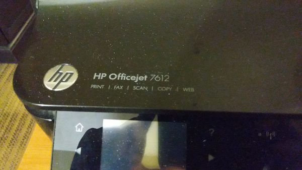 HP Officejet Printer, Scanner. Copy Fax and Web