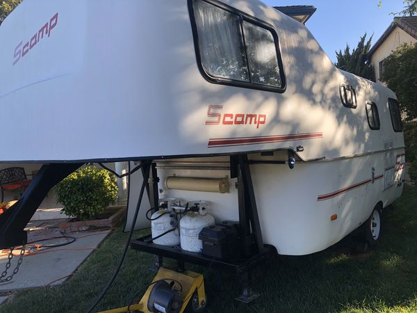 2001 scamp 19ft 5th wheel