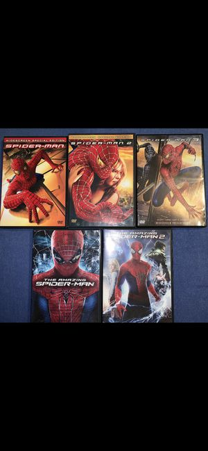 Five Amazing 🕷 Spider-Man Movies for Sale in Wood Dale, IL