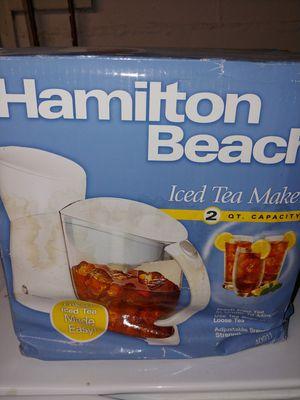 NEW Hamilton Beach Iced Tea Maker for Sale in Cheektowaga, NY