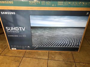 "Samsung SUHD TV 60"" inch JUST FRAME for Sale in Chandler, AZ"