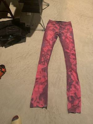 Coustom Stacked jeans size 32 for Sale in UPPR MARLBORO, MD