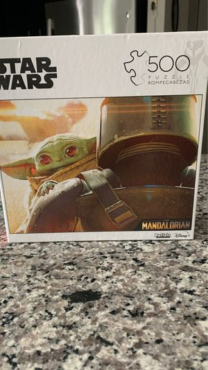 Mandalorian buffalo Star War Baby Yoda puzzle. New never opened. Collection edition. for Sale in Leander, TX