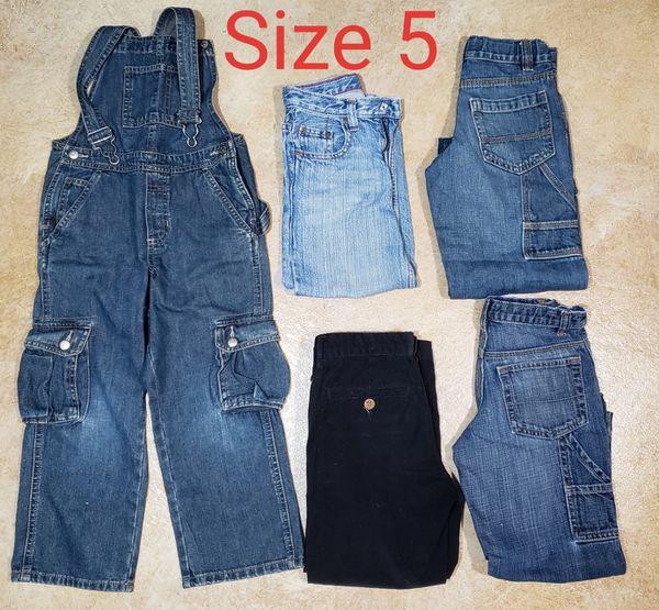 Boys Clothing Size 5