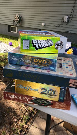 Variety of board games- for Sale in Paterson, NJ