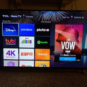 55 Inch 4K Roku Smart TV for Sale in Las Vegas, NV