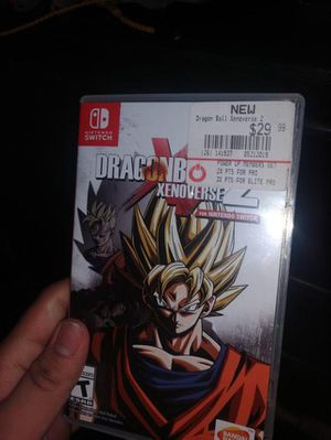 Dragon Ball Xenoverse 2 with 1 year Warranty for Sale in Long Beach, CA