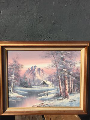 Beautiful framed painting signed by Stanley for Sale in Jersey City, NJ