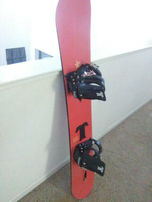 M3 snowboard w/TechNine bindings for Sale in Modesto, CA