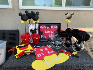 Mickey Mouse Party Decorations for Sale in La Mirada, CA