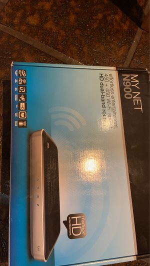 450 Wi Fi speed HD dual band router NEW in box for Sale in Bellevue, WA