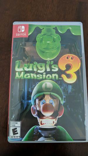 Luigi mansion 3 for Sale in Biscayne Park, FL