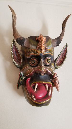Amazing hand craft mask from Mexico City for Sale in Dallas, TX