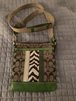 Coach messenger bag purse for Sale in Round Rock, TX