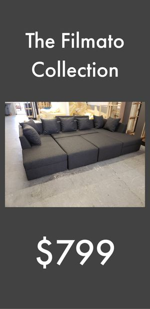 THE FILMATO COLLECTION SECTIONAL SOFA for Sale in Fort Lauderdale, FL