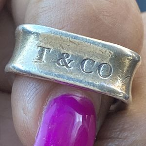 Vintage Tiffany 925 Size 7 Sterling Ring for Sale in Redlands, CA