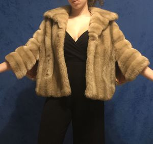 Faux Fur coat (throw over) for Sale in Lynchburg, VA