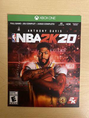NBA 2K20 Digital Code for Sale in San Jose, CA