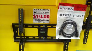 """Universal TV Wall Mount TILT for 32"""" to 55"""" EBT-08 for Sale in Miami, FL"""