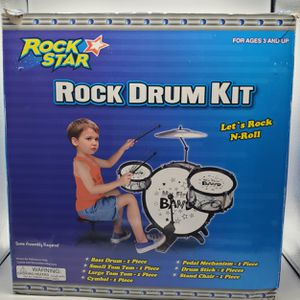 Rock Star Rock Drum Kit for Sale in Westminster, CO